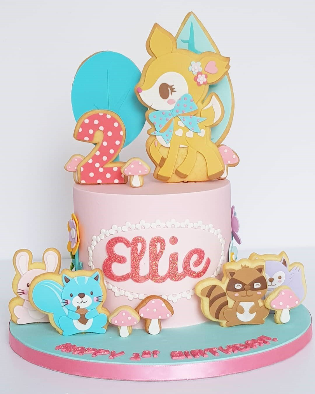 Fairyland Cake - Cake for Kids Dubai - Pandoracake.ae