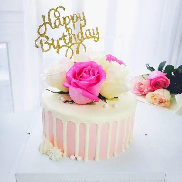 Customized Flower Cake - 1
