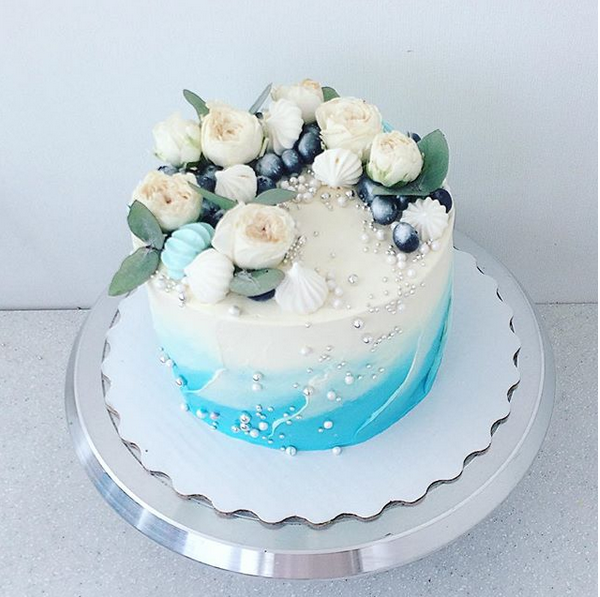 Customized Flower Cake - 2