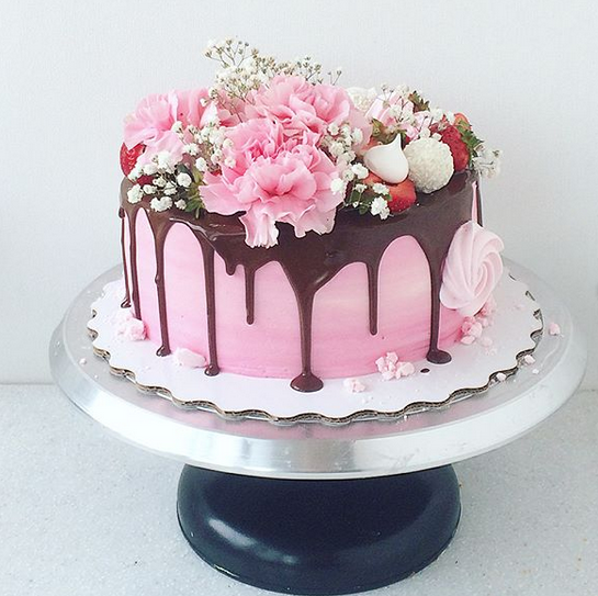 Customized Flower Cake - 7