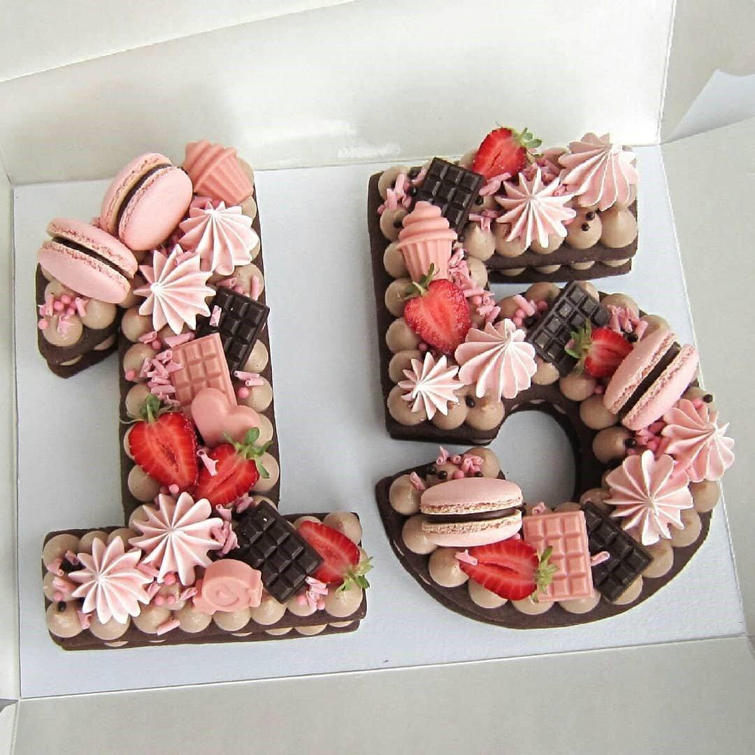 Wondrous Pink Chocolate Cake Two Number Birthday Cake Gift Pandoracake Ae Funny Birthday Cards Online Ioscodamsfinfo