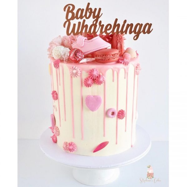 Pink and White Cake buy cake online dubai for birthday events